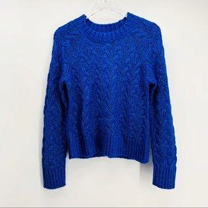 NWT Lucky Brand Quinn Cable Knit Sweater Sz Medium